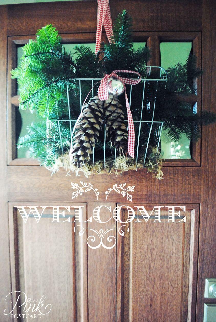 *PinkPostcard.*: christmas around the house