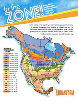 Sunset Climate Zones Central California Gardening Zones Usda Zones Urban Farming