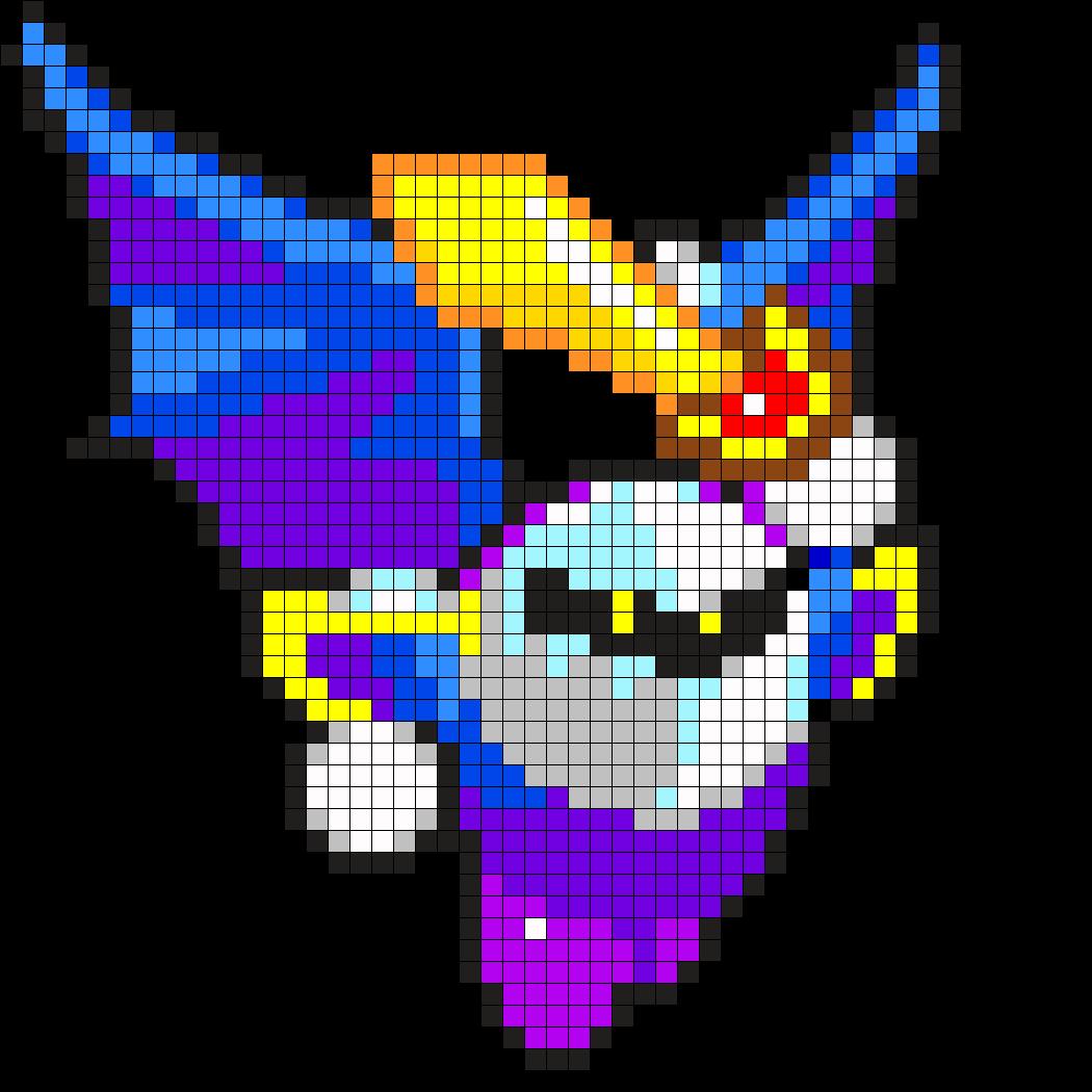 Meta Knight - Kirby Perler Bead Pattern | Kirby | Pinterest ...
