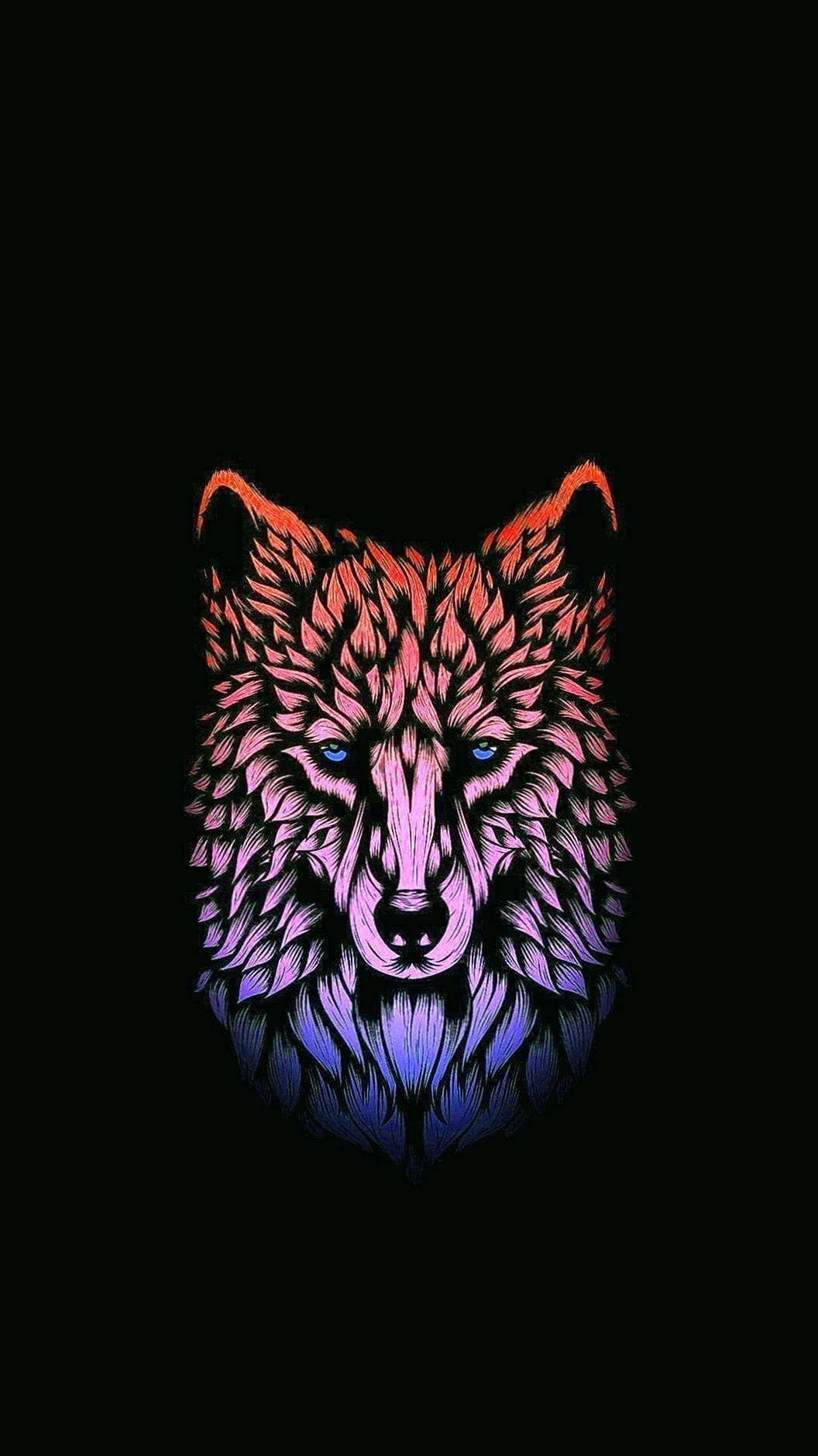 Amoled Wolf Wallpapers Wolf Wallpapers Pro In 2020 Wolf Wallpaper 4k Wallpaper For Mobile Ice Wolf Wallpaper
