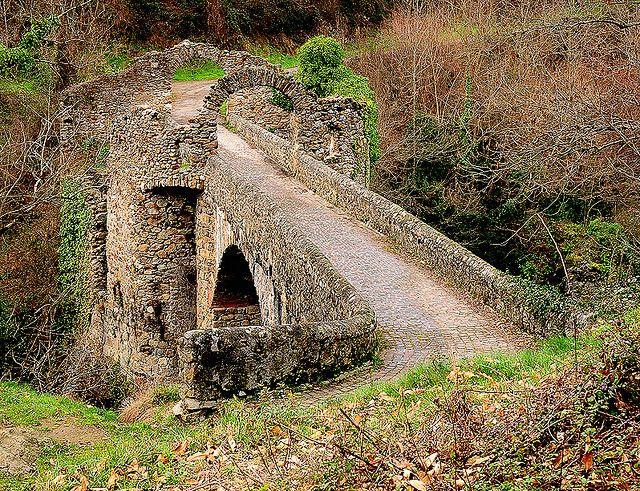 le pont du diable  near Tarascon-sur-Ariège, France