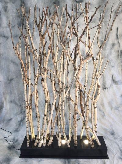 paravent clair avec des branches de bouleaux paravent branches de bouleaux clair es. Black Bedroom Furniture Sets. Home Design Ideas