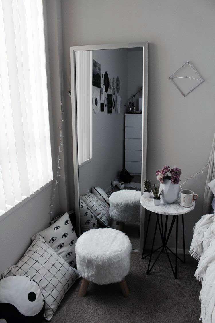 35 Stunning Apartment Bedroom Mirror Ideas Bedroom Decor Room Decor Bedroom Aesthetic Bedroom