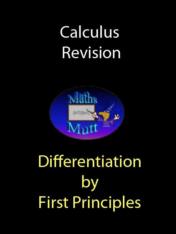 Kindle ebook these notes are primarily designed as a revision aid kindle ebook these notes are primarily designed as a revision aid for differentiation by first principles topics are first principles reminder fandeluxe Images