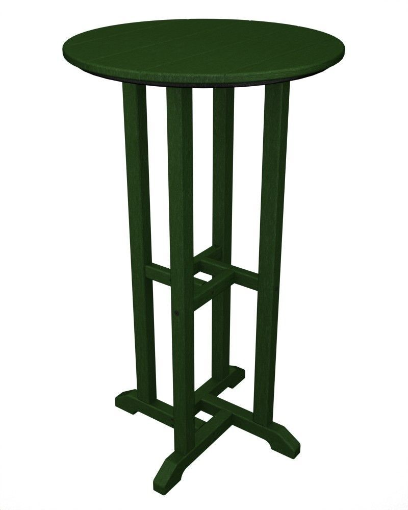Traditional bar table round counter height table tall table round bar table patio