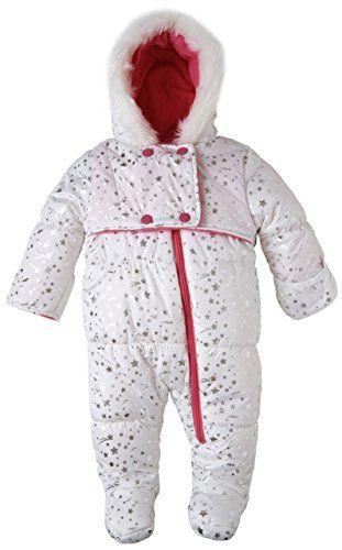 2cbd764d8 Wippette Baby Girls Infants Fleece Lined Warm Winter Foil Star ...