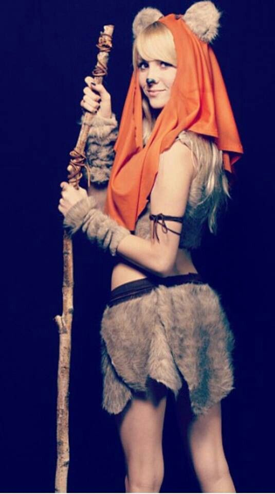 Female ewok Star Wars Halloween Pinterest Cosplay, Costumes - hot halloween ideas