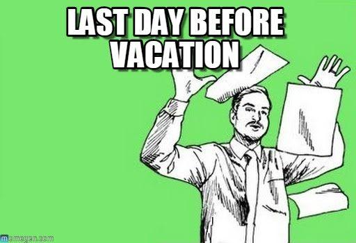 Pin On Vacation Memes