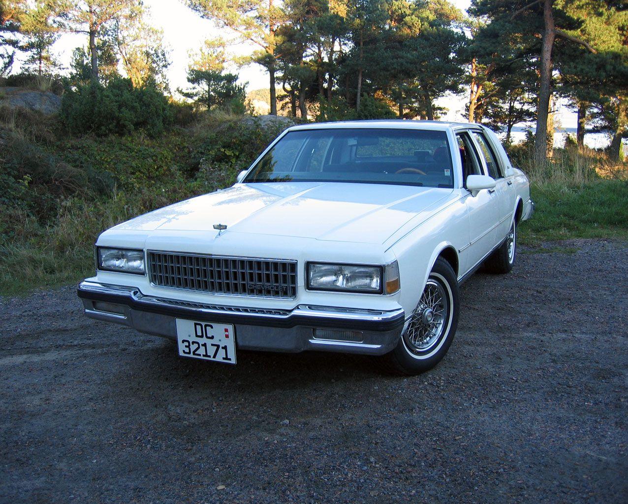 87 Chevy Caprice-http://mrimpalasautoparts.com | 1987-90 Chevrolet ...