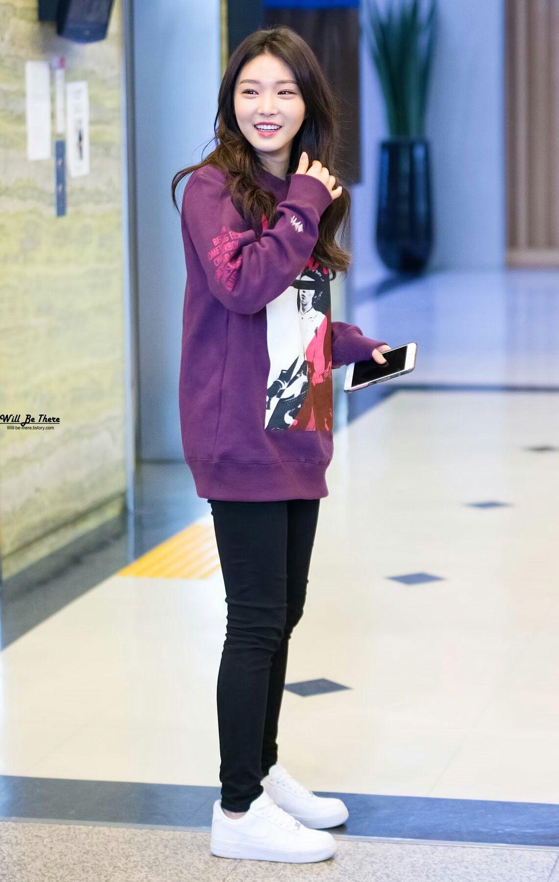 Kim Chungha Chungha Korean Airport Fashion Korea Fashion