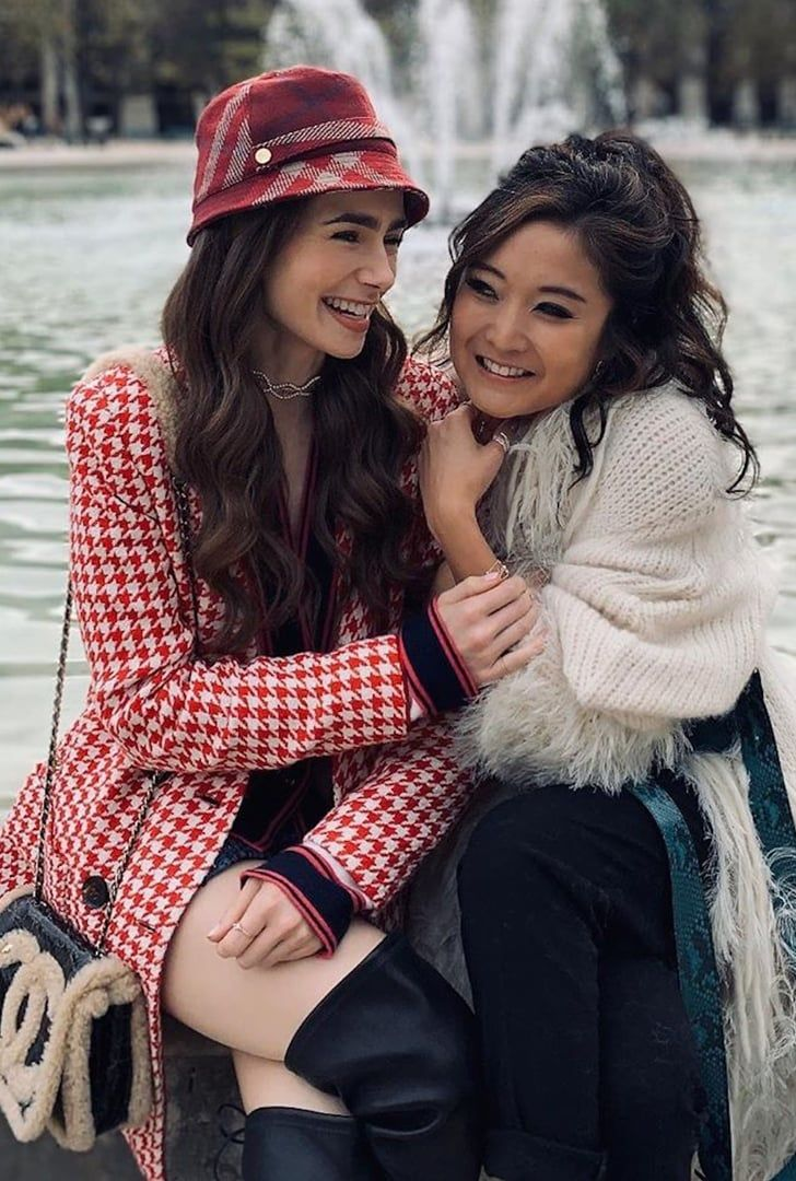 Lily Collins and Ashley Park Make One Seriously St