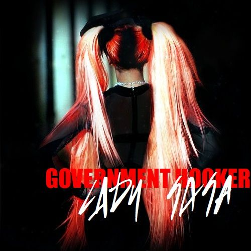 Lady Gaga – Government Hooker (single cover art)