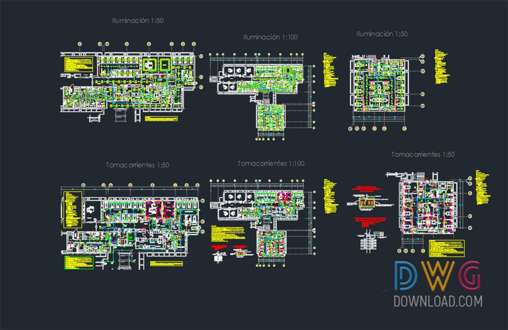Hospital Electrical Dwg Project Electrical Dwg Project