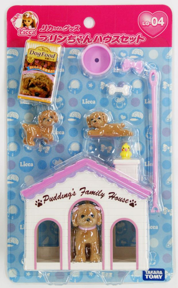Takara Tomy Licca Doll Licca Chan Pet House Set doll not