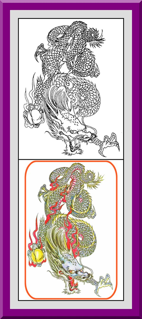 Coloring book outlines - Dragons Coloring Book 30 Printable Coloring Pages Outlines Color Examples Instant Download Dragons Coloring Pages