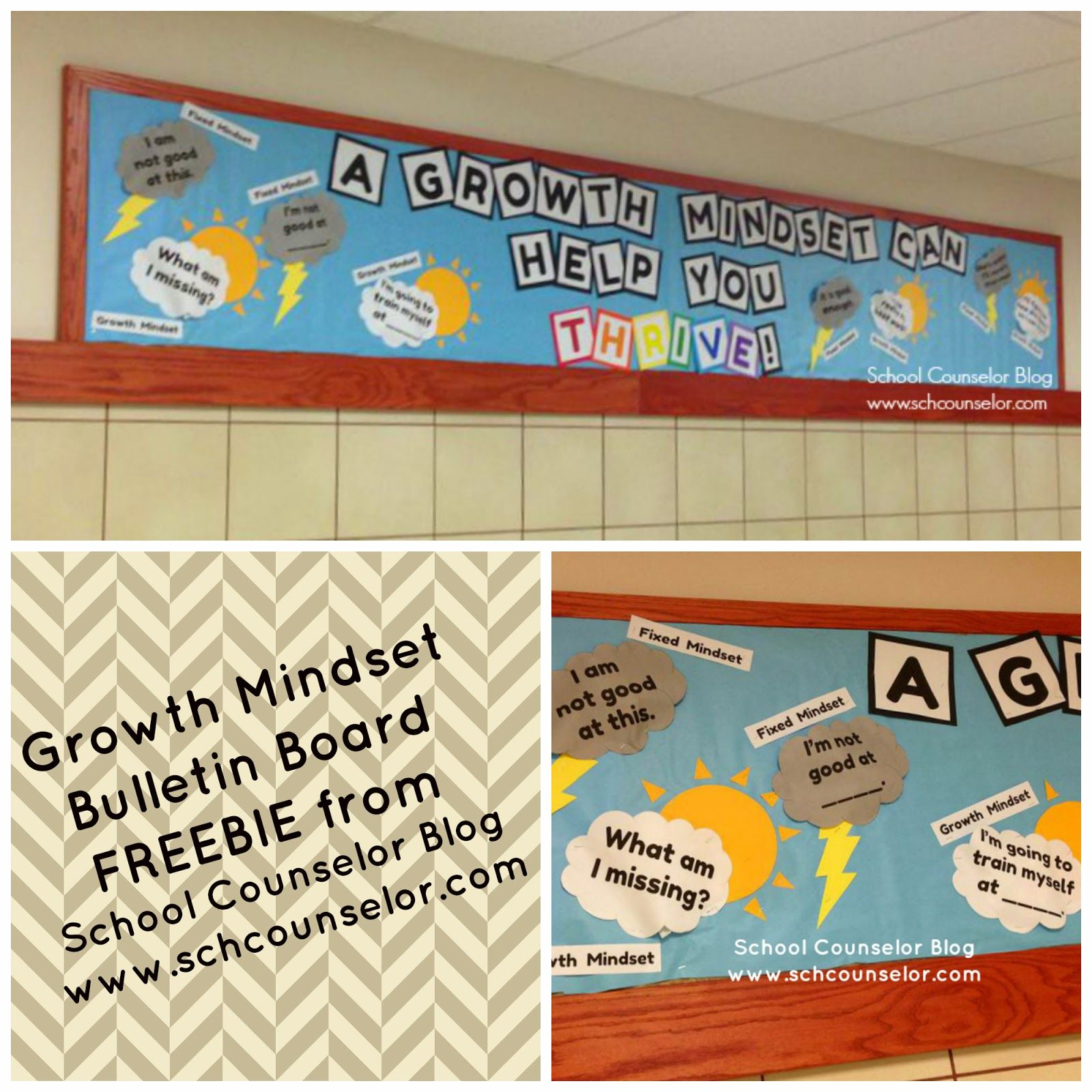 Bulletin Board Ideas For Questions: School Counselor Blog: A Growth Mindset Can Help You