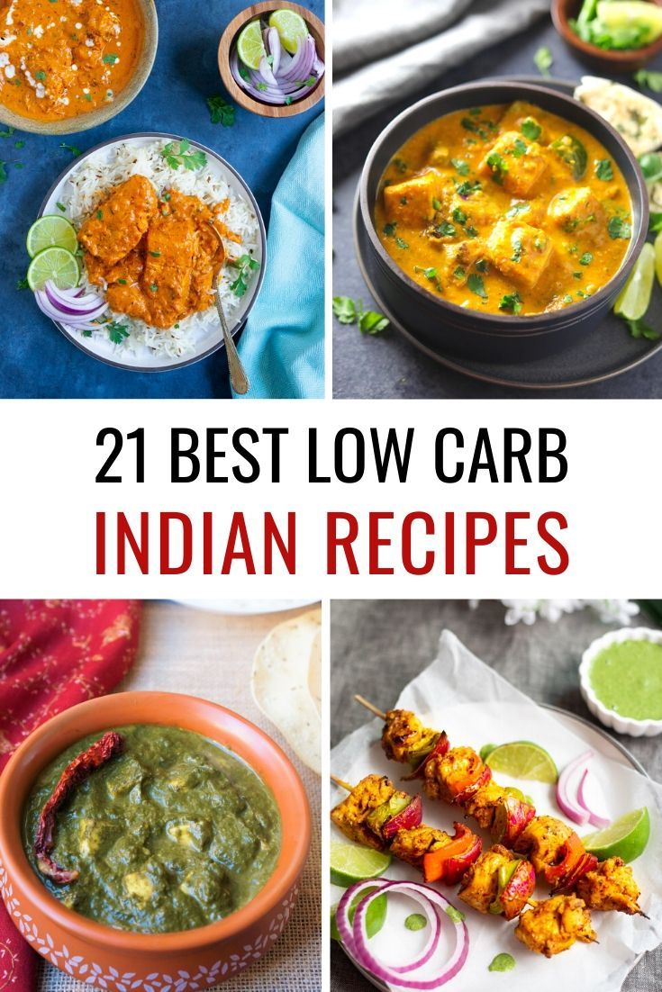 21 Easy Low Carb Indian Recipes You Can Try Today in 2020
