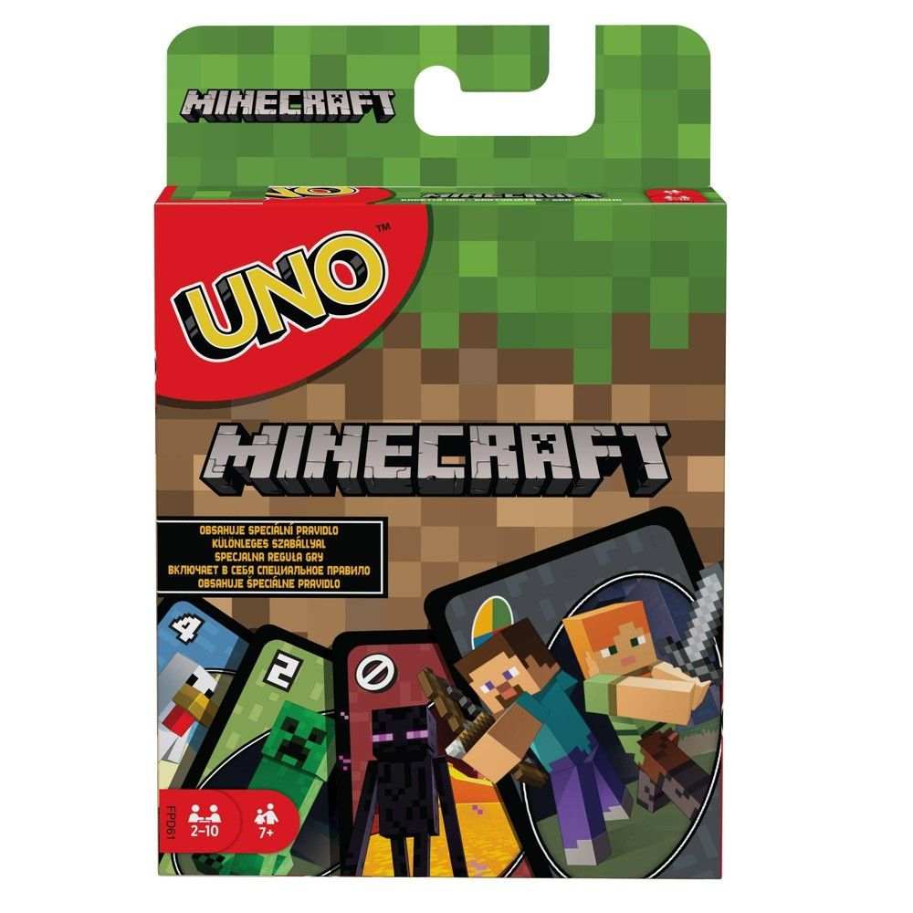 UNO Minecraft Card Game in 2020 Card games, Party card