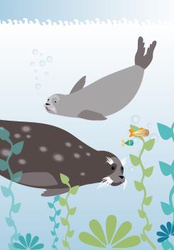 Meri Mort, Helsinki, Finland based illustrator. For Mimmit - children's book.