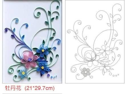 Paper quilling patterns free pdf paper quilling for Quilling patterns for beginners