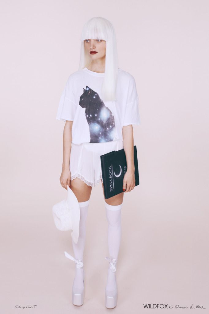 Wildfox Couture x Francesca Lia Block Galaxy Cat