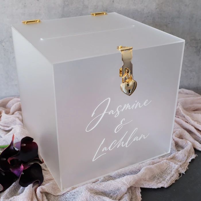 Rose Gold Mirror Acrylic Card Box I Custom Wedding Card Box Etsy Custom Wedding Card Box Card Box Wedding Wedding Card Box Lock