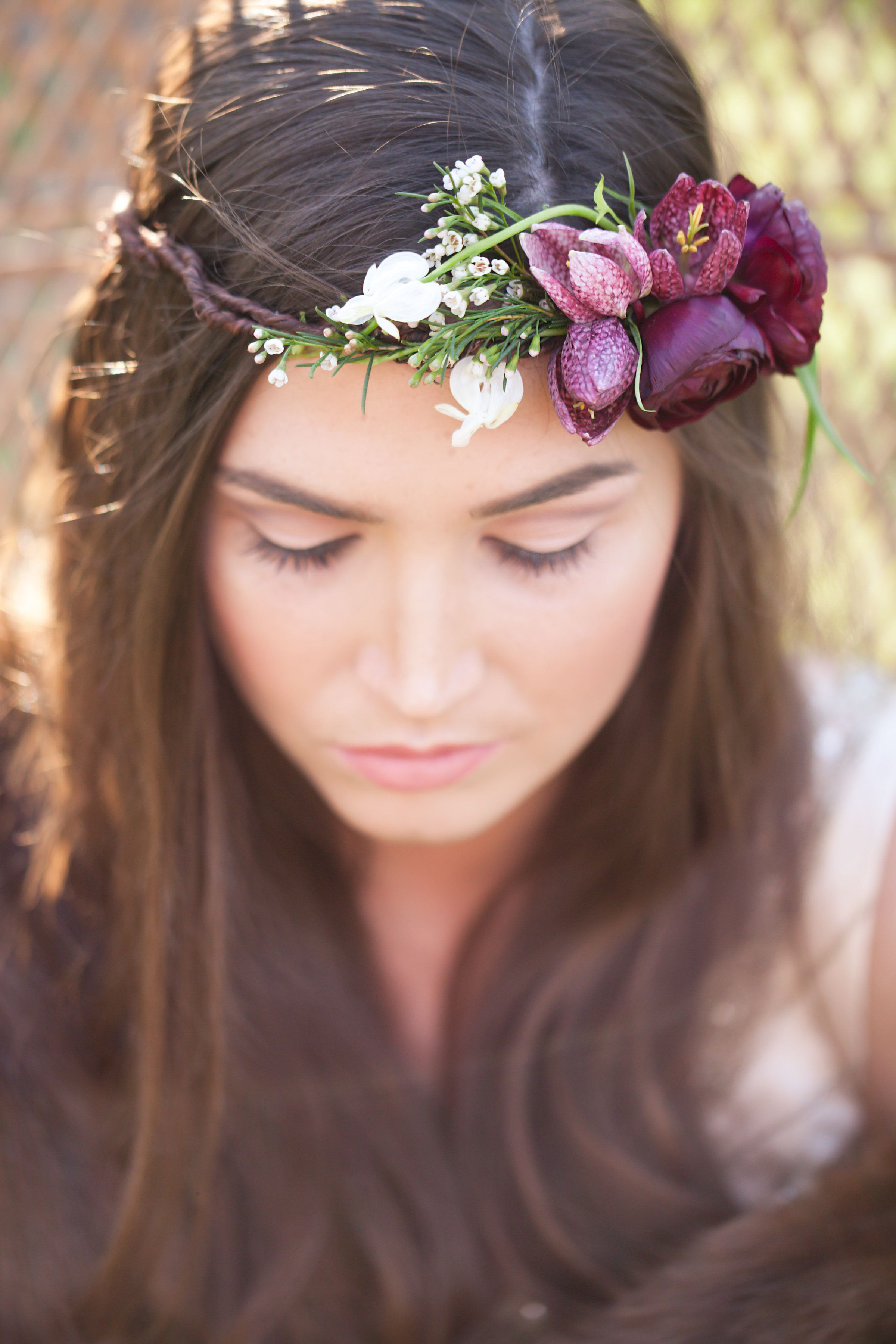 Wildwood Floral Co - boho photo shoot, jennifer soots photography, floral crown