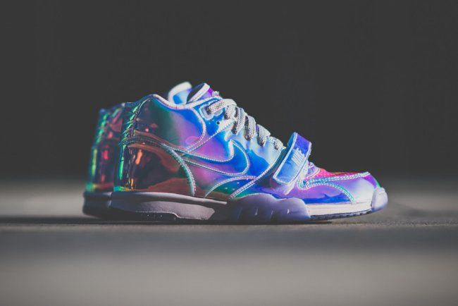 """preview of cheap prices new appearance Nike Air Trainer 1 """"Super Bowl"""" Silver Speed Pack Available on ..."""