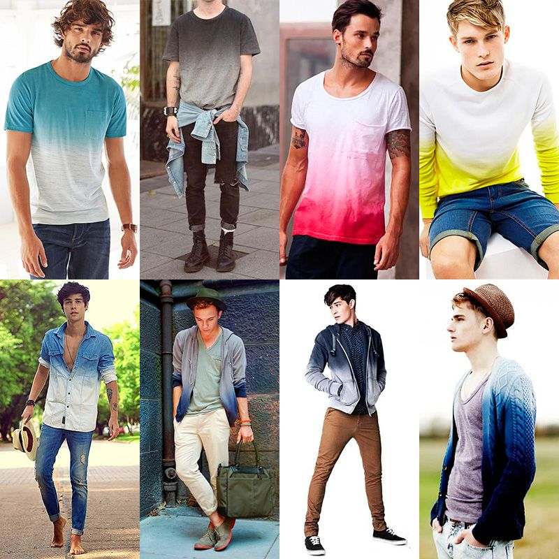 Men's Ombre Fashion