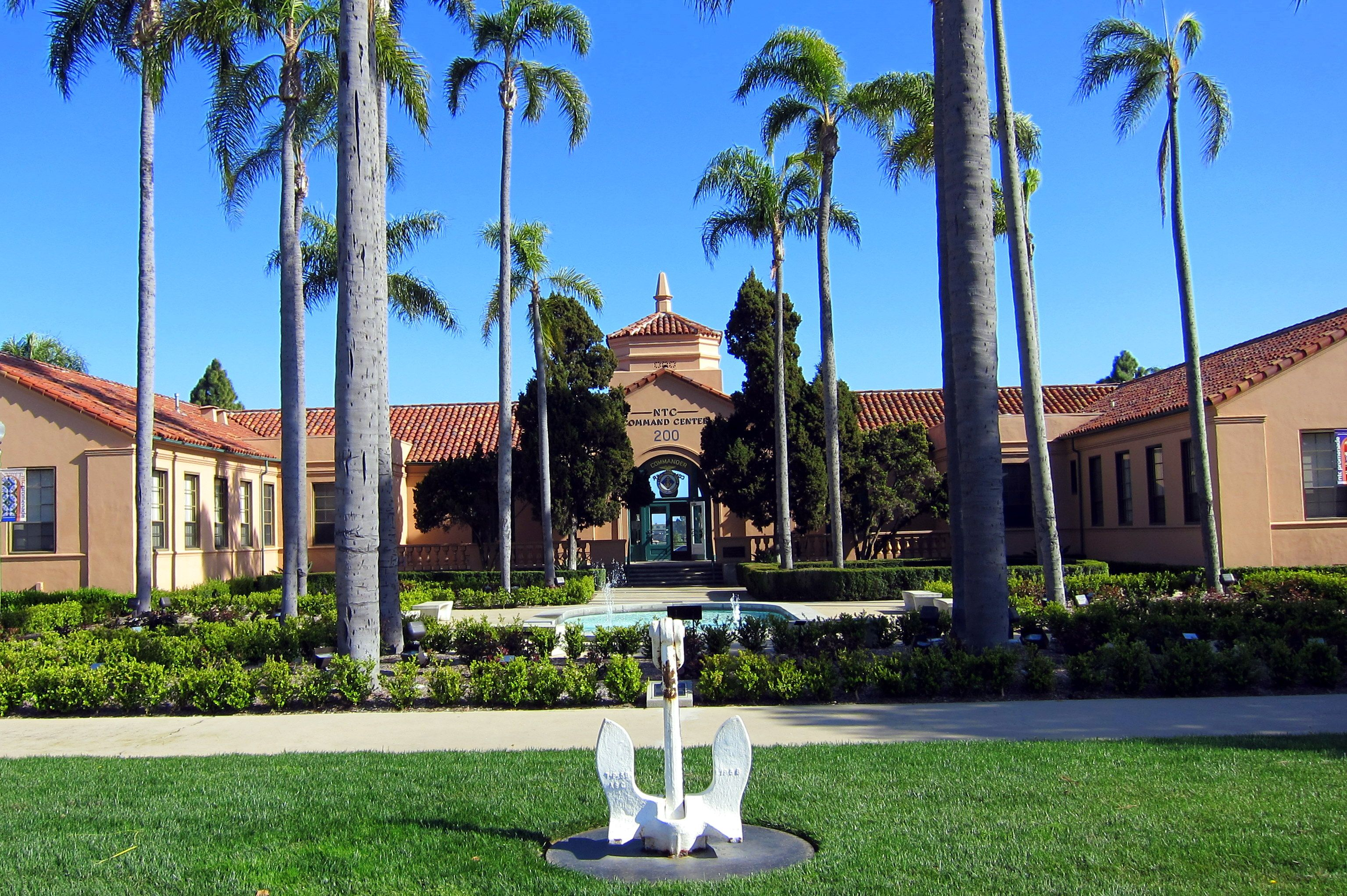 Former naval training center ntc san diego closed by