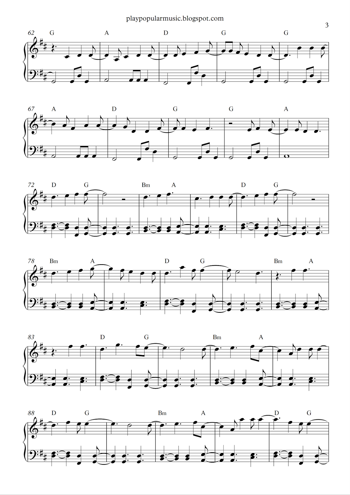 Free Piano Sheet Music Castle On The Hill Ed Sheeranpdf I Miss The