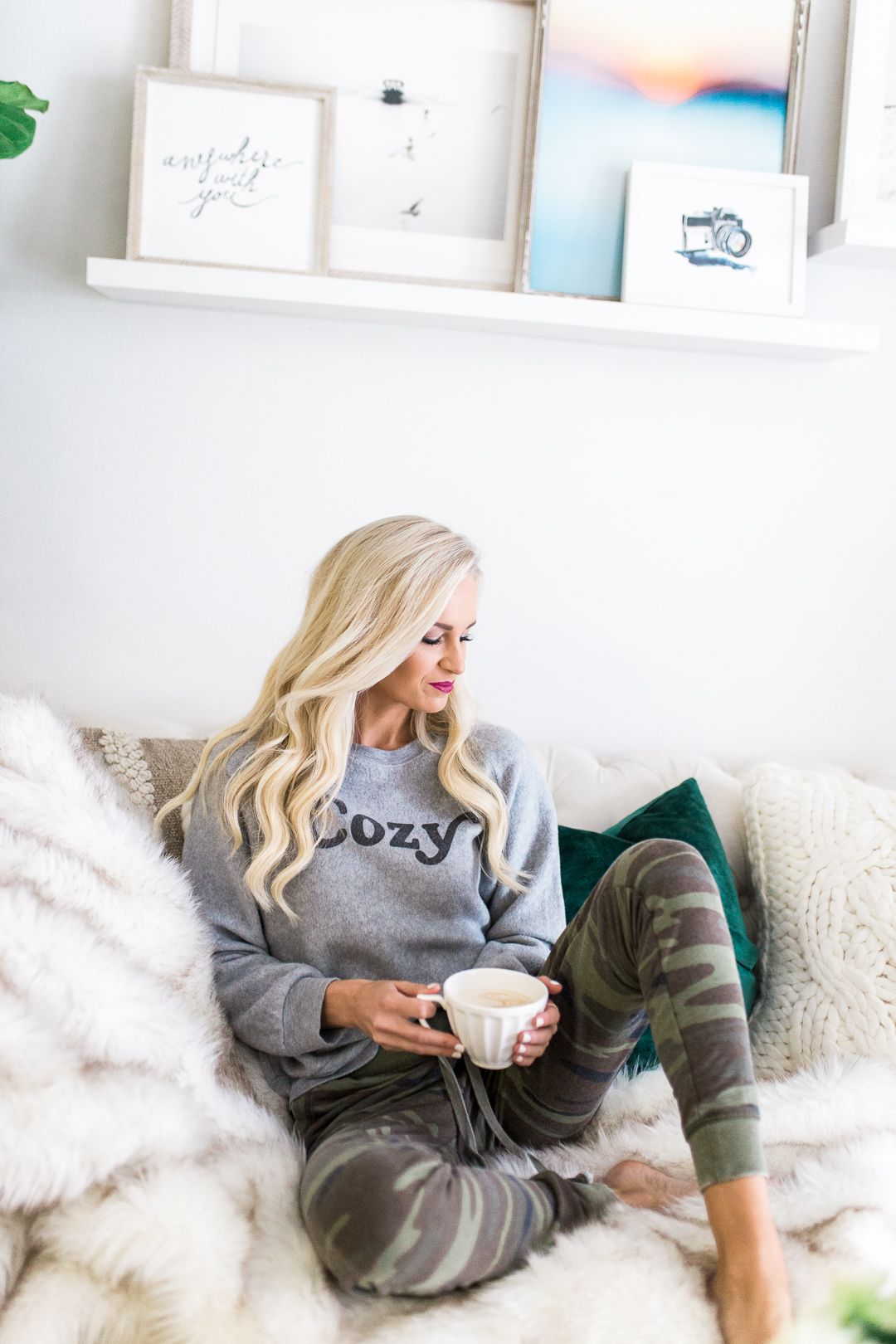 6c660140ce443 At Home Lounging, San Diego Style   My Style / McKenna Bleu in 2019 ...