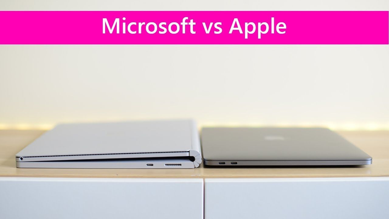 Surface Book 2 13 V Macbook Pro 13 Shootout Which One Is The Best Macbook Pro Macbook Surface