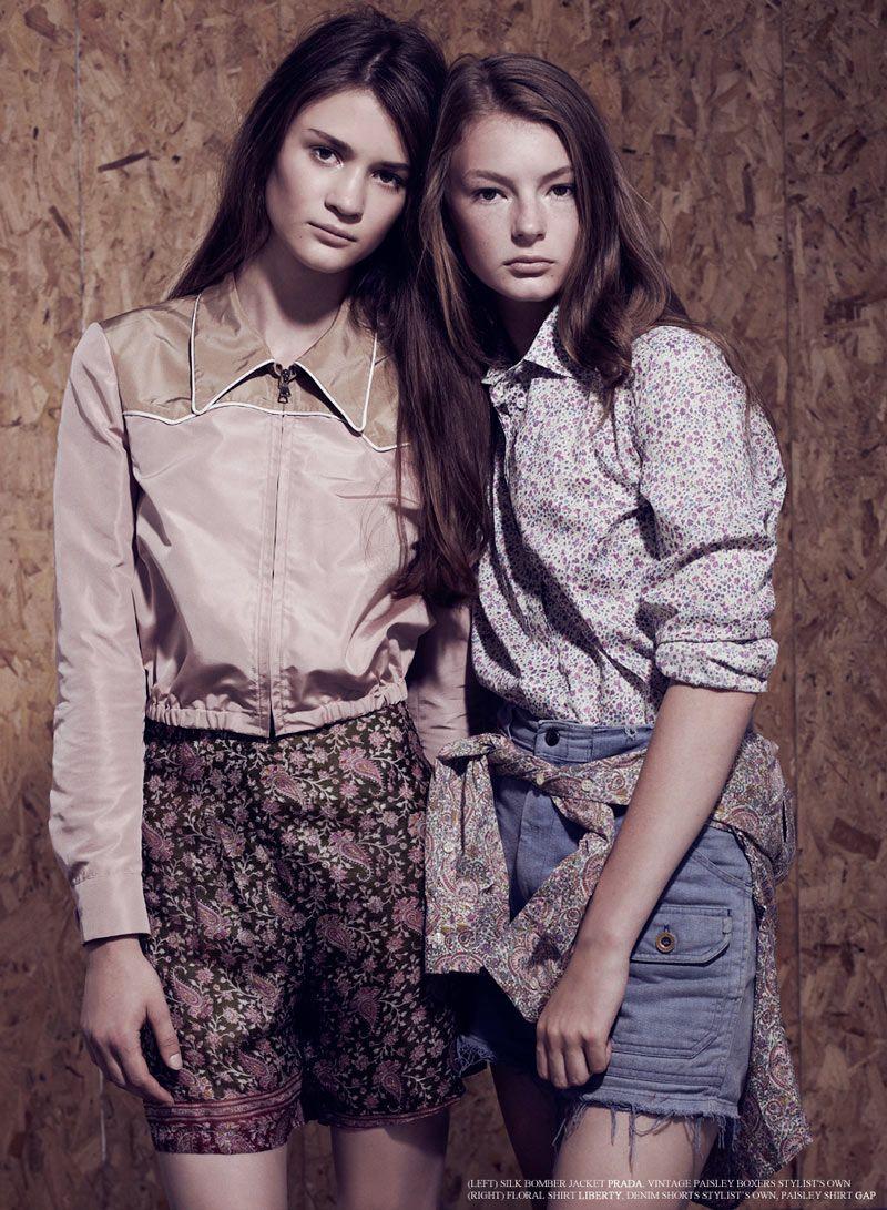 Anna Jackson & Agata B by Kate Cox for Fashion Gone Rogue