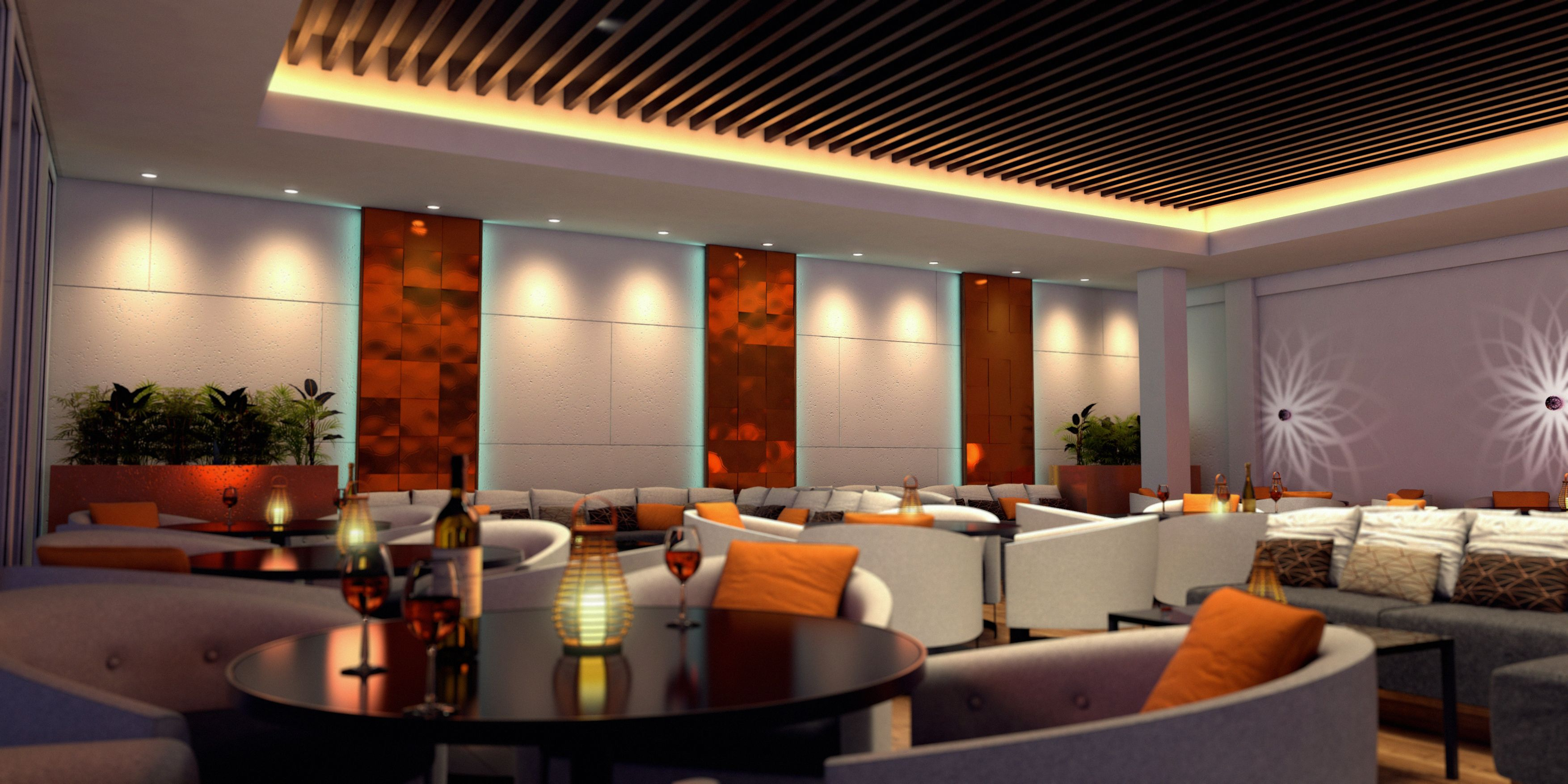Restaurant Design Concepts Interior Design Concept  Royal Golf Club Bahrainrestaurant
