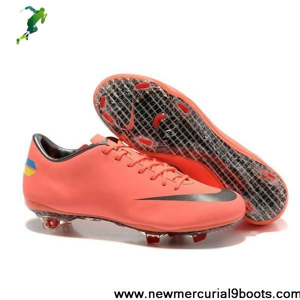 35a6c2a86 Nike Mercurial Vapor VIII FG Mango Dark Grey Soccer Boots On Sale ...