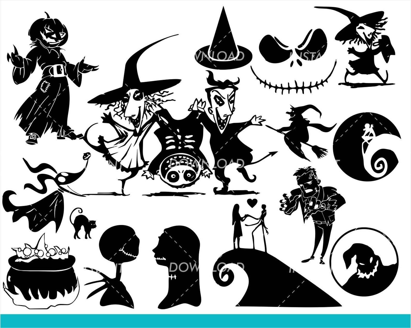 Nightmare Before Christmas Svg Collection Lock Shock And Etsy In 2020 Nightmare Before Christmas Tattoo Nightmare Before Christmas Christmas Tattoo