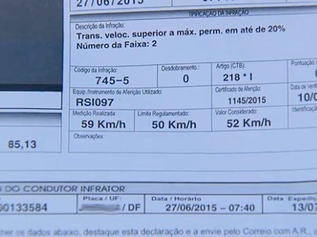 Detran do DF cancela 7 mil multas a motoristas abaixo do limite na W3 +http://brml.co/1IczIxZ