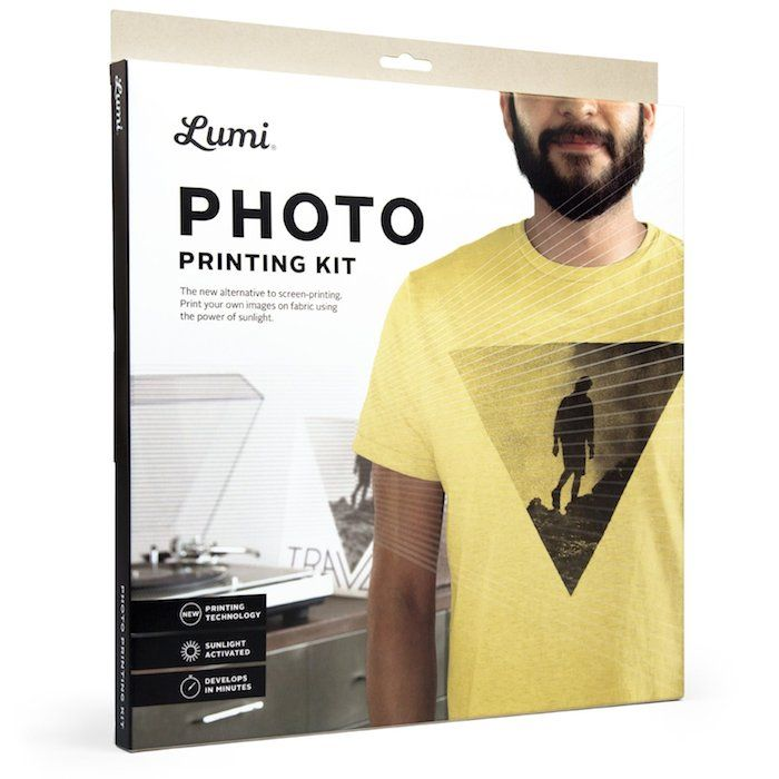 Lumi Printing Photos With Sunlight Printing on fabric