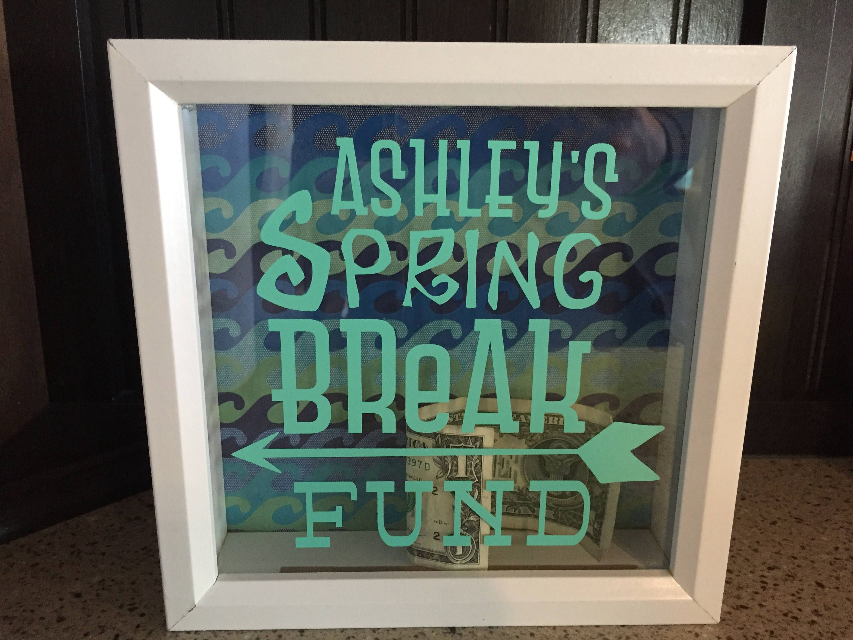 Adventure Fund Honeymoon Fund Fund Box Spring Break Gift