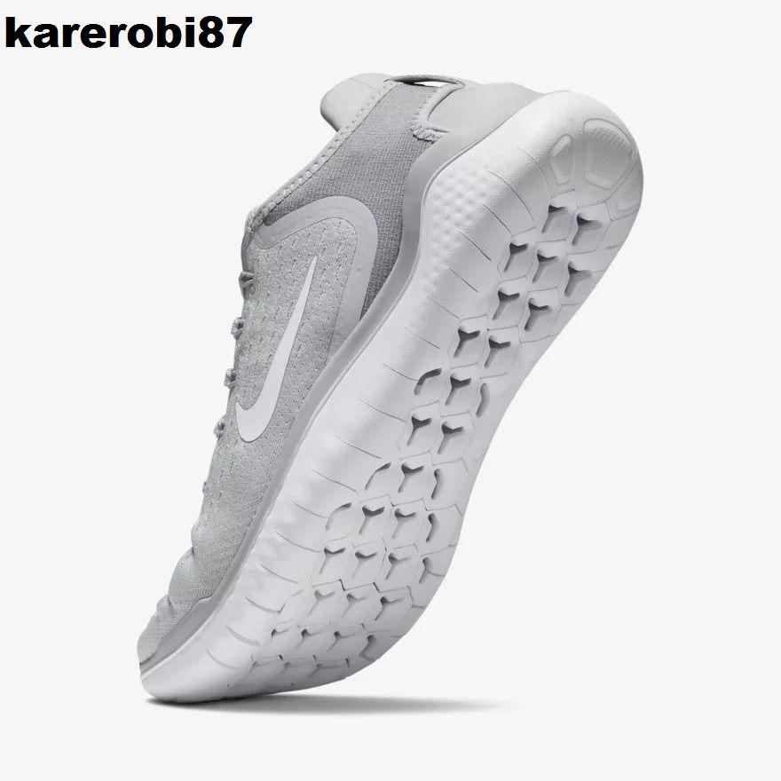 Mens nike free rn 2018 running shoes wolf greywhitevolt