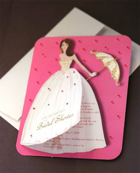 Homemade Wedding Shower Invitations Ideas 20 Lovely Bridal Shower