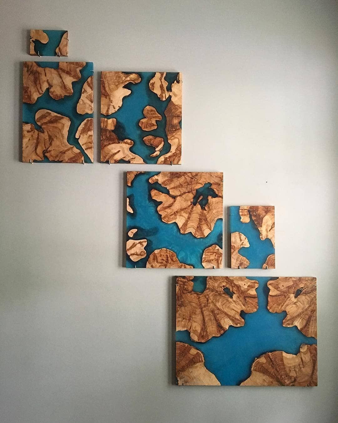Epoxy River Table Resin Wall Art Epoxy Resin Table Wood Resin Table