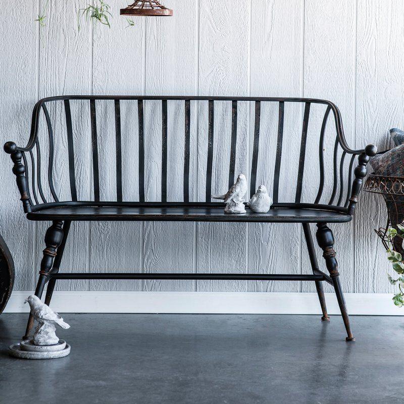 Outstanding Marchant Metal Garden Bench Benches In 2019 Metal Garden Theyellowbook Wood Chair Design Ideas Theyellowbookinfo