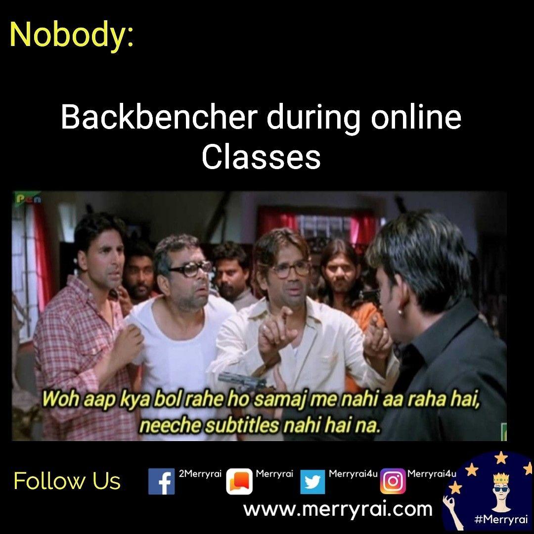 #desimeme #bollywoodmeme #students #merryrai #memes