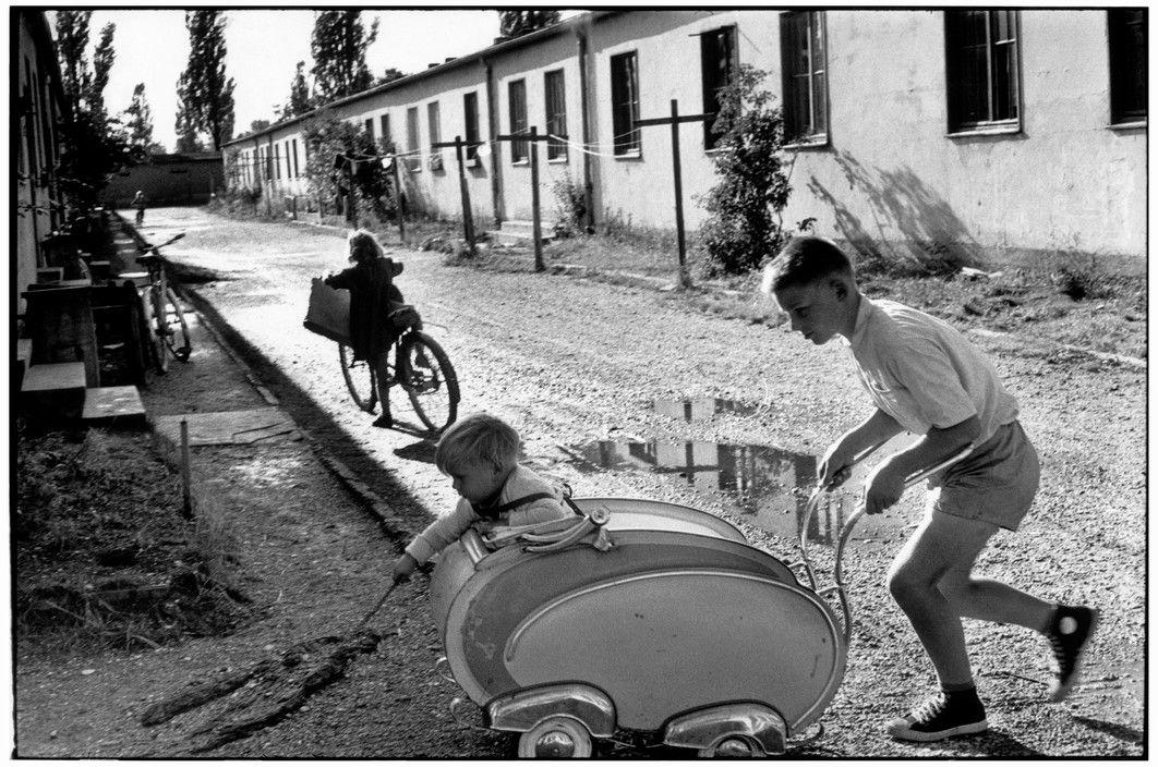 Henri Cartier-Bresson // West Germany, 1962 - . Bavaria. Dachau.