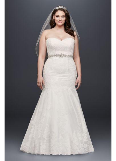 b73443f8 My wedding dress!!! Long Mermaid/ Trumpet Formal Wedding Dress - David's  Bridal Collection
