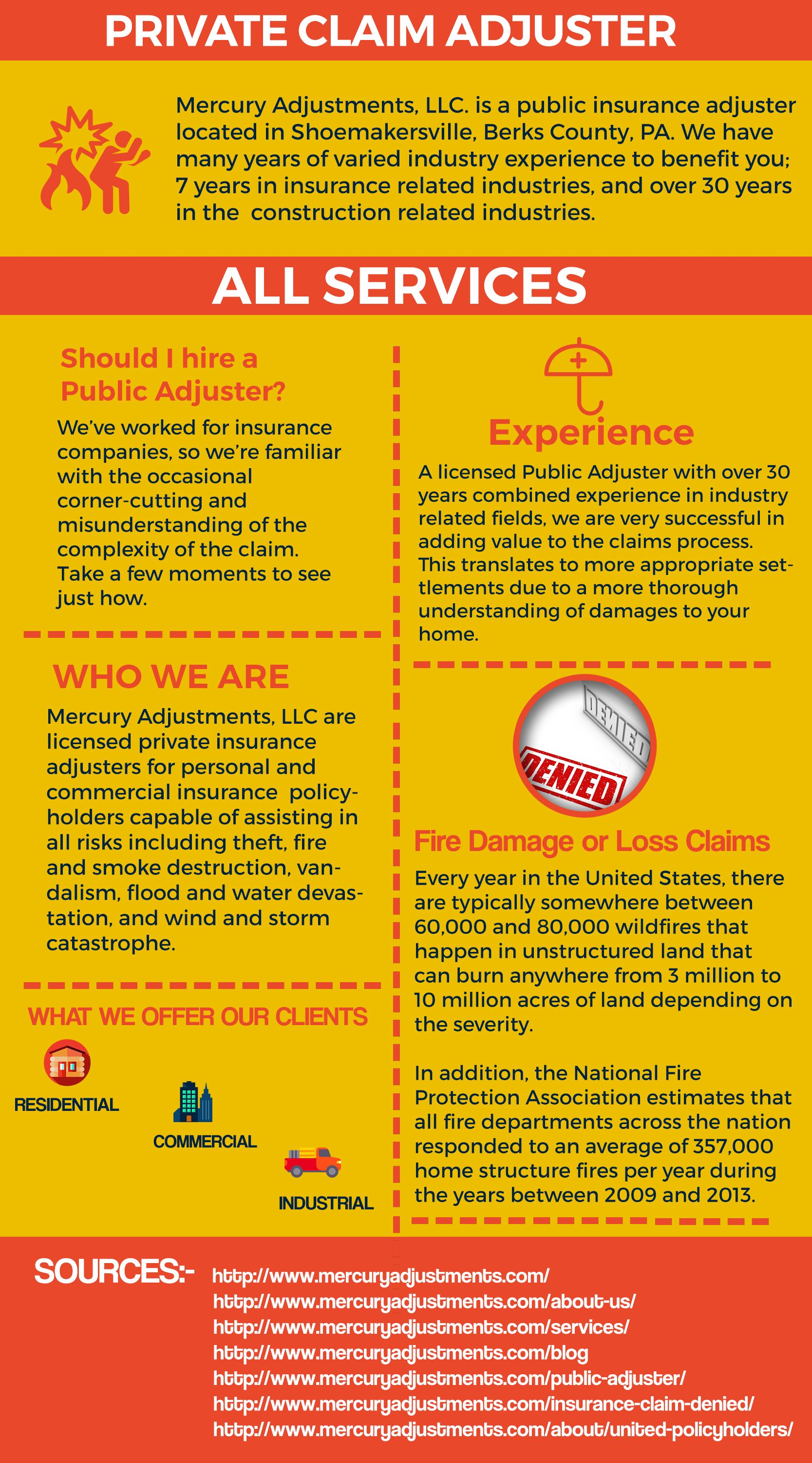 Mercury offers you best claim adjuster. Our claim adjuster