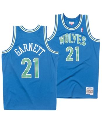 finest selection c9c9b 8b1f0 Mitchell & Ness Men's Kevin Garnett Minnesota Timberwolves ...