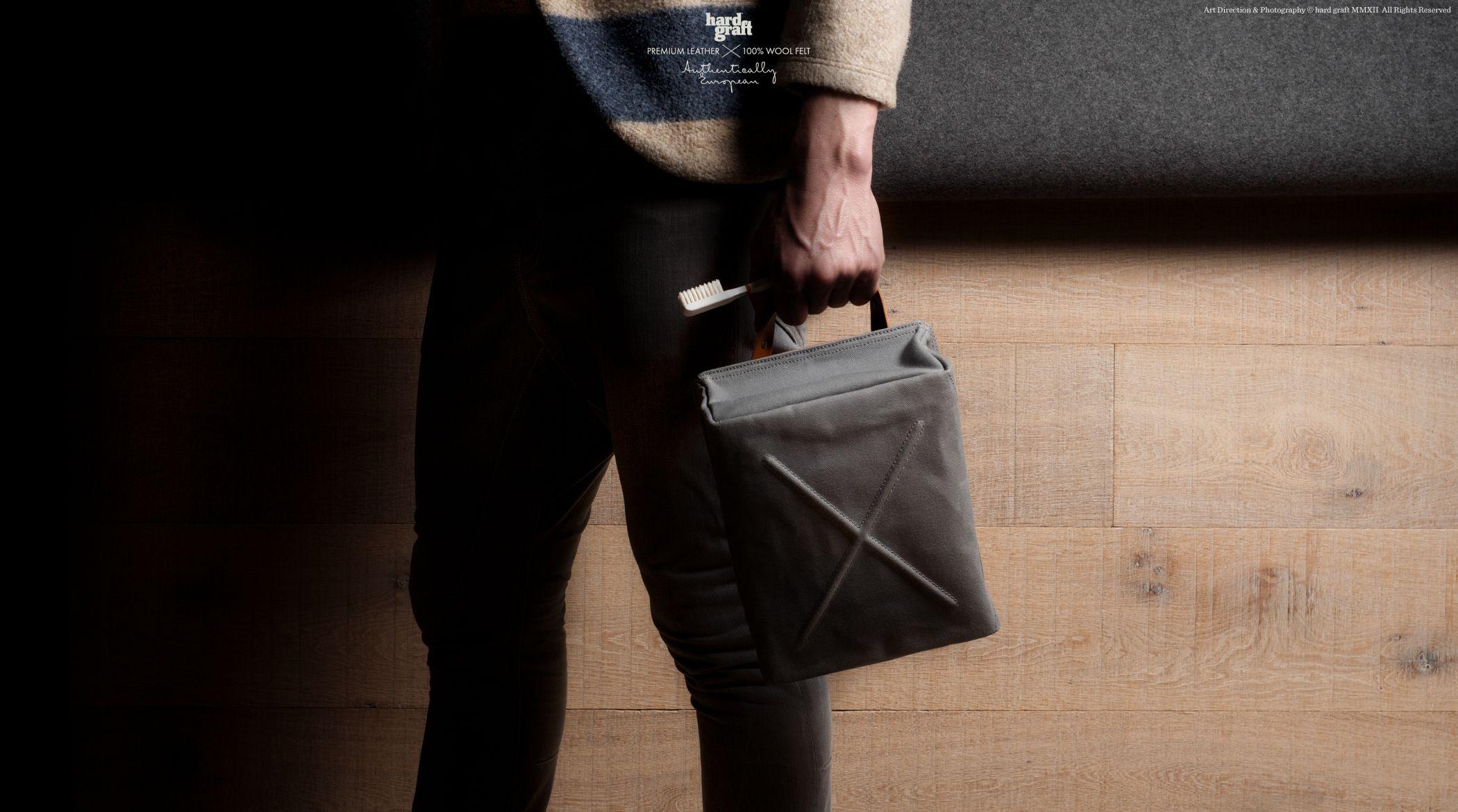 #HardGraft #canvas #leather #doppkit #bag